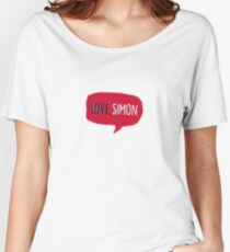 Love, Simon  Women's Relaxed Fit T-Shirt