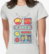 RetroBot Women's Fitted T-Shirt