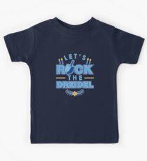 Dreidel Jewish Hanukah Hanukkah Chanukah T-Shirt Kids Tee