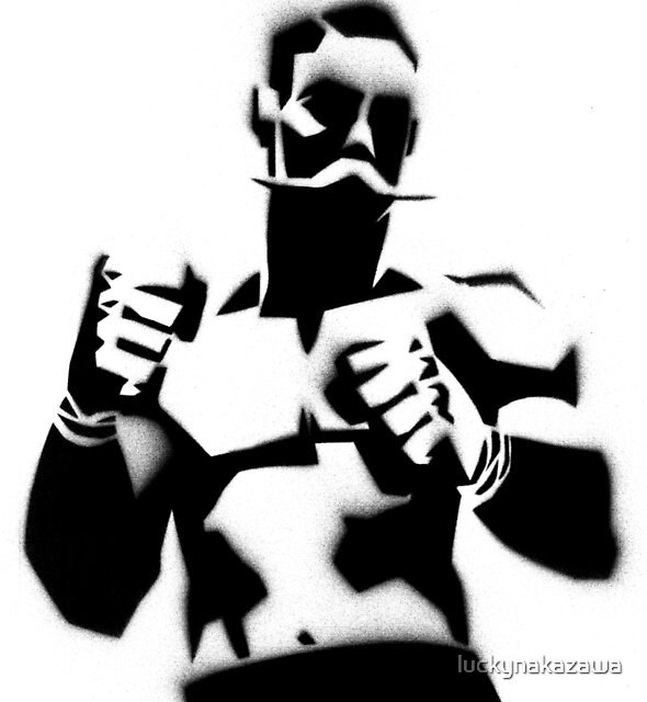 The Fighter by luckynakazawa