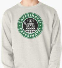 Caffeinate! Exterminate! Pullover