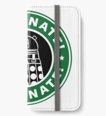 Caffeinate! Exterminate! iPhone Wallet/Case/Skin