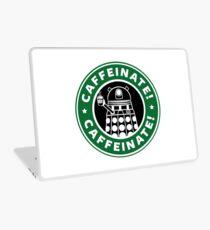 Caffeinate! Exterminate! Laptop Skin