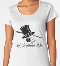 A Gentleman's One Women's Premium T-Shirt