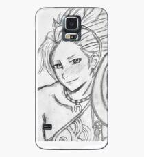 Shy Smile Case/Skin for Samsung Galaxy