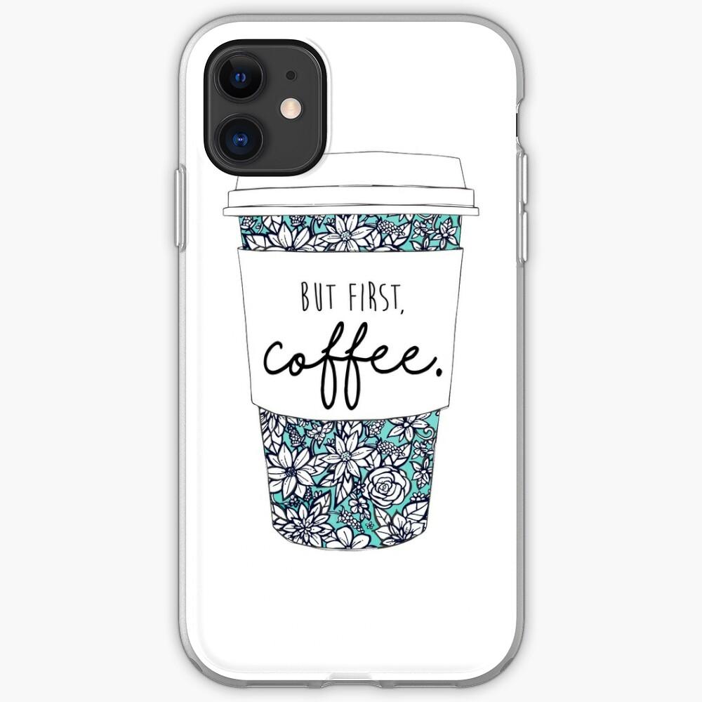 Blumenkaffee iPhone-Hülle & Cover