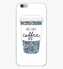 Floral Coffee iPhone Case