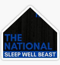 The National - Sleep Well Beast Sticker