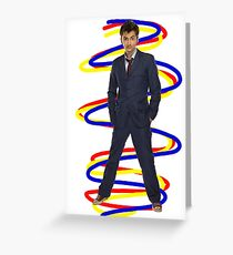 10th Doctor - Doctor Who Greeting Card
