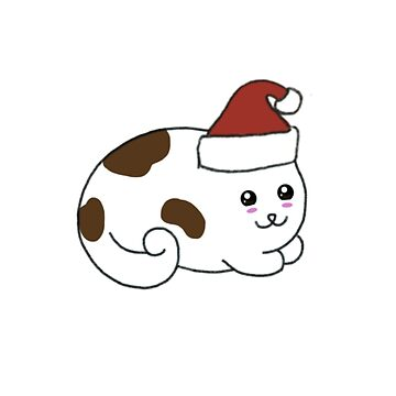 Christmas Kitty by Bundjum