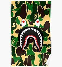 Army Shark  Poster