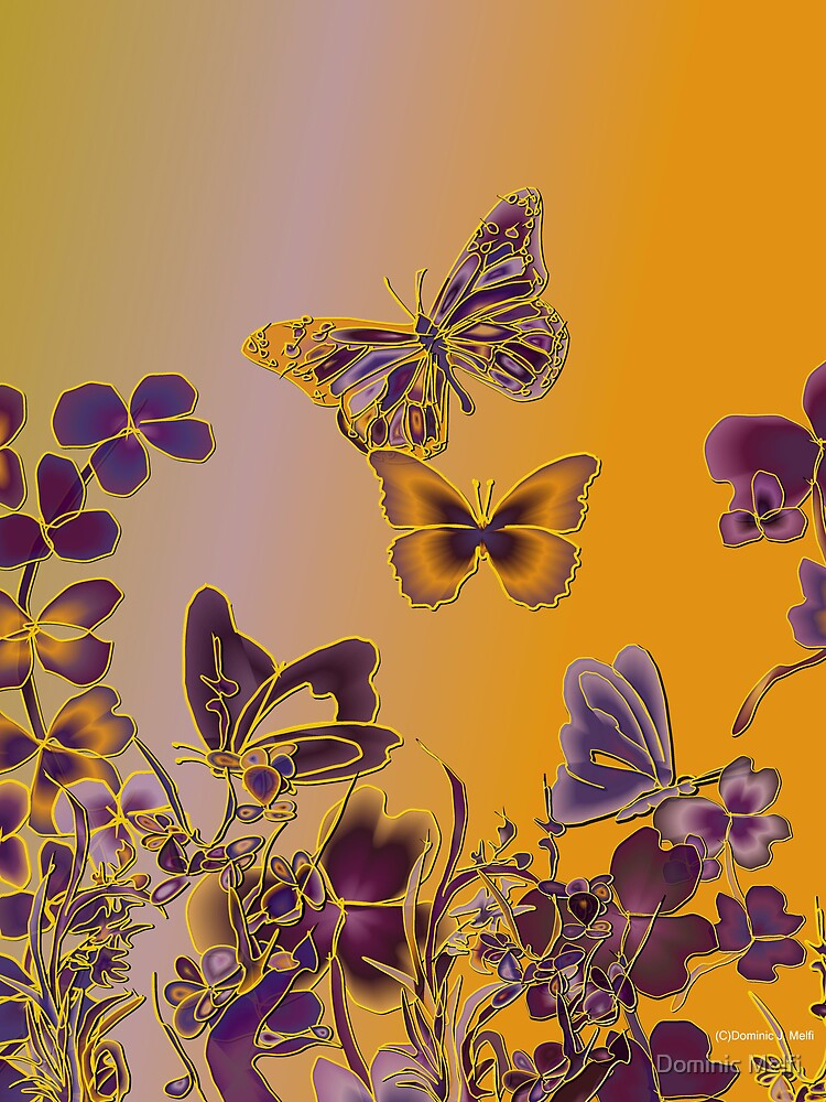 Butterscotch and Butterflies by Dominic Melfi
