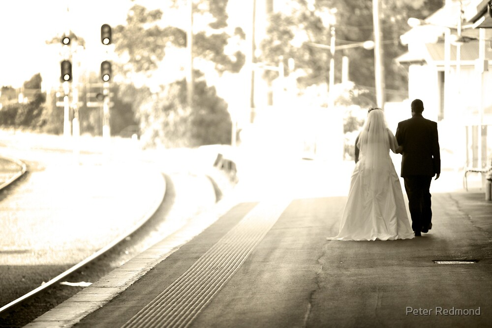 Walking away... by Peter Redmond