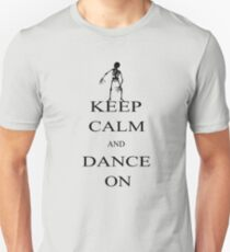 keep calm and dance on Unisex T-Shirt