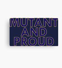 Mutant Pride Canvas Print