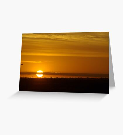 Avalon Sunset Greeting Card