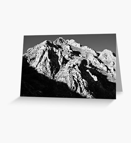 Unnamed Peak, McGee Canyon Greeting Card