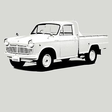 Datsun Truck 1200 Deluxe 320 1964 by DatsunStyle