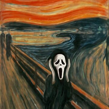(The) Scream Parody by BovaArt