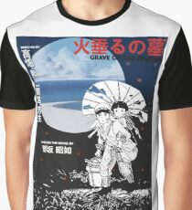 Grave of the Fireflies Graphic T-Shirt