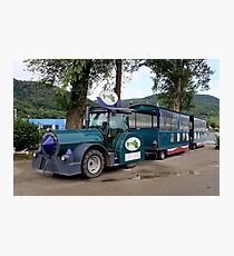 Hieronymus shuttle train, Durnstein, Austria Photographic Print