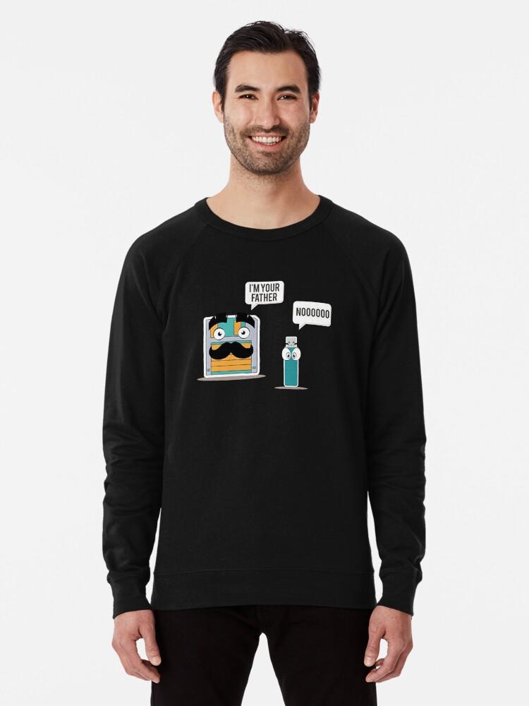 3dff83246 Funny Computer Geek T Shirts Gifts-USB Floppy Disk for Women Men  Lightweight Sweatshirt