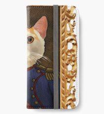 Napoleon Cat iPhone Wallet/Case/Skin