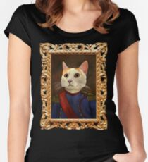 Napoleon Cat Women's Fitted Scoop T-Shirt