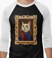 Napoleon Cat Baseball ¾ Sleeve T-Shirt