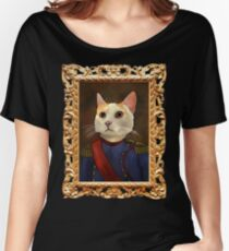 Napoleon Cat Women's Relaxed Fit T-Shirt