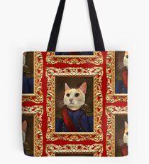 Napoleon Cat Tote Bag