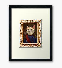Napoleon Cat Framed Print