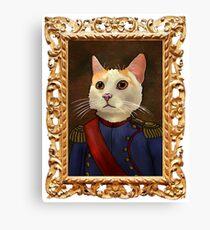 Napoleon Cat Canvas Print