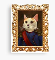 Napoleon Cat Canvas Print