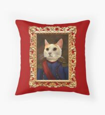 Napoleon Cat Floor Pillow
