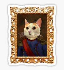 Napoleon Cat Sticker