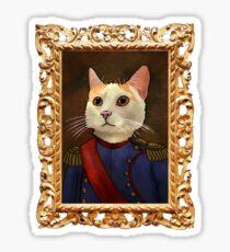 Napoleon Cat Sticker