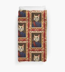 Napoleon Cat Duvet Cover