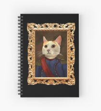 Napoleon Cat Spiral Notebook