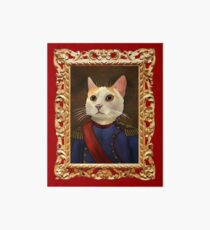 Napoleon Cat Art Board Print