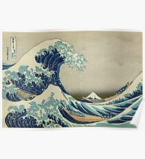 Póster La gran ola