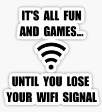 Lose Your WiFi Sticker