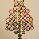 Christmas coin tree by evonealawi