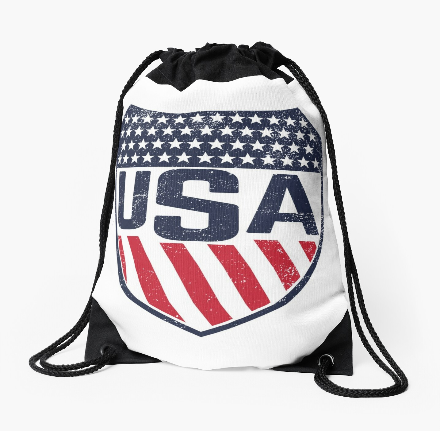 Lacrosse Women s National Team Logo with USA Flag colors