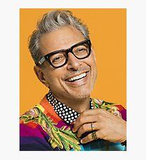 Jeff Goldblum ist glücklich Fotodruck