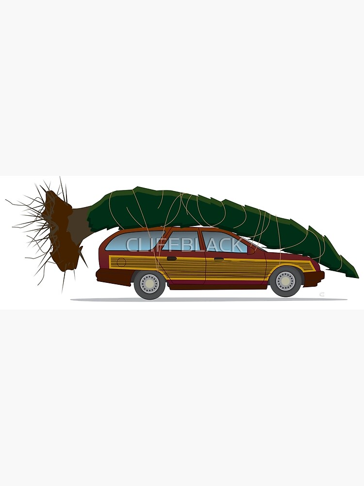 Christmas Vacation Car.Grizwald S Christmas Vacation Poster
