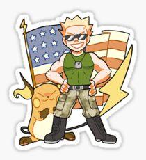 Lt. Surge Sticker