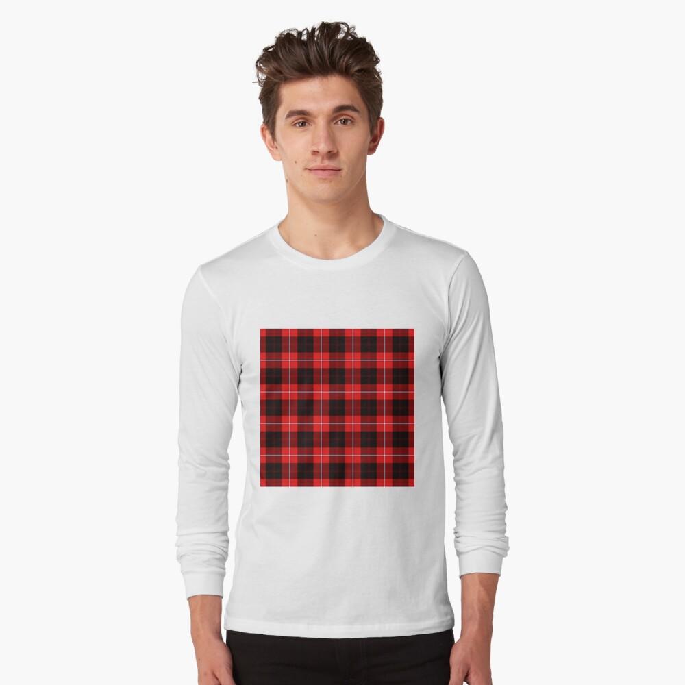 CUNNINGHAM TARTAN Long Sleeve T-Shirt