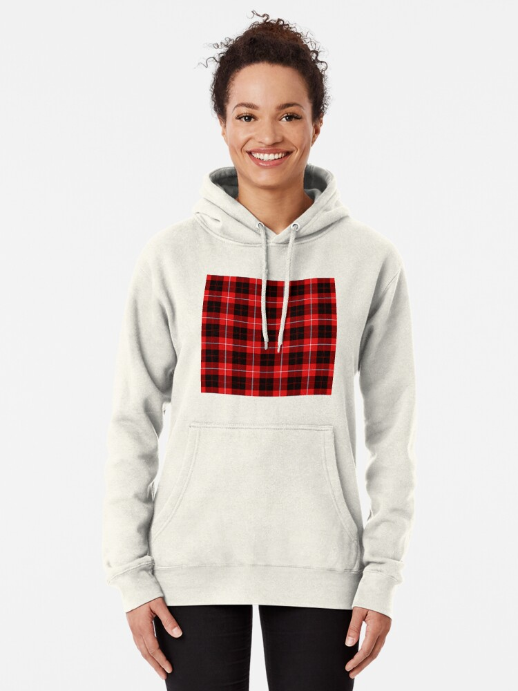 Alternate view of CUNNINGHAM TARTAN Pullover Hoodie