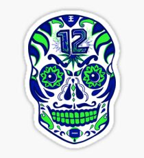 12th Fan Sugarskull Sticker
